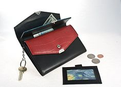 $5.00 Triple Flap Leather Wallet At Liquidationprice.com