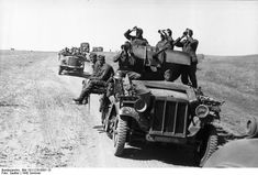 SdKfz 10/4 vehicle of German 24th Panzer Division with a mounted 2 cm FlaK 30 anti-aircraft gun, southern Russia, summer 1942