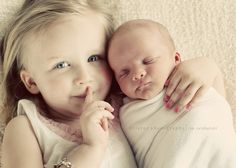 Aww! Love this little sibling photo!