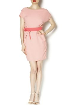 Perfect pleated sheath dress