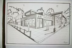drawing in two point perspective - Google Search