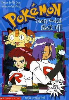 Pokemon Chapter Book Team Rocket Blast Off! by Tracey West 0439154189 9780439154185 Pop Up, Kids Chapter Books, Science Fiction, Pokemon Team Rocket, Nintendo Super Smash Bros, Gym Leaders, Mystery Books, Funny Design, Used Books