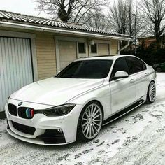BMW F30 3 series white