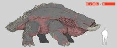 Evolve High-Vis Desert Fauna (FREETOPLAY), Stephen Oakley on ArtStation at https://www.artstation.com/artwork/55nAW