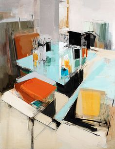 peri schwartz modern abstract painting