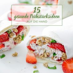 Auf die Hand, in den Mund! 20 mal Frühstück to go Already too late? No reason to miss the breakfast. You can easily eat these 15 ideas to go on the go. Breakfast On The Go, Paleo Breakfast, Best Breakfast, Breakfast Ideas, Food To Go, Good Food, Food And Drink, Kids Meals, Easy Meals