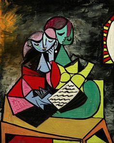 Pablo Picasso Deux personnages (La Lecture) (1934) - Sotheby's Impressionist & Modern Sale - artnet News