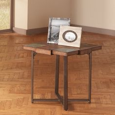 Have to have it. Steve Silver Winchester Square Cherry Wood End Table - $168 @hayneedle. 24x24x24