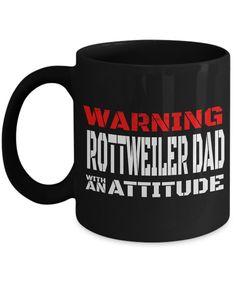 Rottweiler Gifts-Rottweiler Mug-Rottweiler Dad #dogbreedsforkids