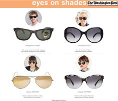 The Washington Post: Summer Sunglasses Trends | #theLOOK