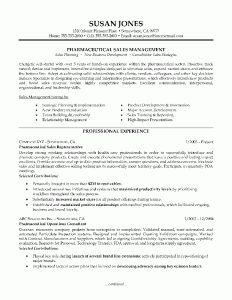 Sample Resume For Pharmaceutical Industry Sample Resume