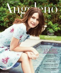 Magazines - The Charmer Pages : Emily Mortimer for Modern Luxury August 2013