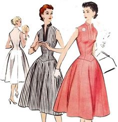 1940s dresses past patterns | original vintage sewing patterns for clothing from the 1940 s 1950 s ...