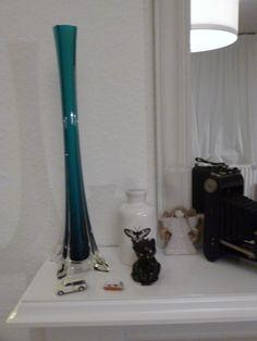 retro vase bought at Blighty Basaar Leamington Spa