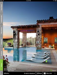 Amazing backyard pool