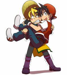 tags: specialshipping, rexyellow, red, yellow, pokespe, pokemon