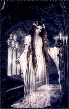 The Beautiful Gothic Artwork of Celebrated Illustrator, Victoria Francés