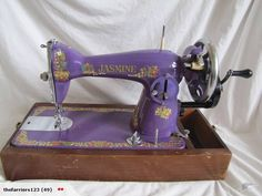 Pretty Purple Sewing Machine