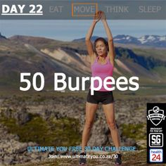 Welcome to Day 22 of the Free Ultimate You Healthy Habits Challenge brought to you by Sleekgeek and Burpees, Diet And Nutrition, 30 Day, Healthy Habits, 50th, Challenges, Weight Loss, Losing Weight, Weigh Loss