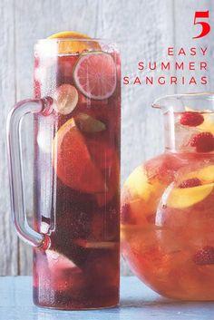 Five Easy Summer Sangrias Recipes