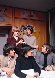 """pinkfled: """"The Rolling Stones photographed by Bent Rej, 1965. """""""