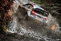 Die Rallye Großbritannien kann schnell zur Schlammschlacht werden - Foto: Sutton