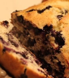 Blueberry Banana Bread - my favorites blueberry + banana together in one delicious bread!