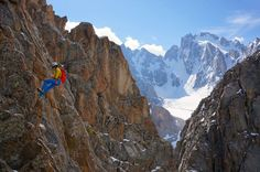 Descent from summit Photo by Kristaps Liepins — National Geographic Your Shot