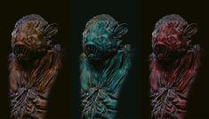 sea creature, Revnic Claudiu on ArtStation at https://www.artstation.com/artwork/44eN4