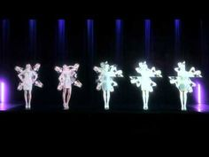 ▶ 3D Holographic Fashion Show in Hamburg - YouTube
