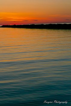 From blue to orange by Xavist on the colorful way, via Flickr