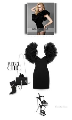 """""""I don't dress up for anyone except me"""" by blonde-bedu ❤ liked on Polyvore featuring By Terry and Yves Saint Laurent"""