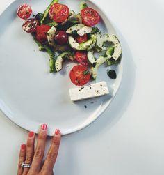 (Real) Greek Salad (