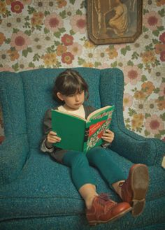 I would love to fill a wall at home or at school of kids reading, all different ages, in different places!