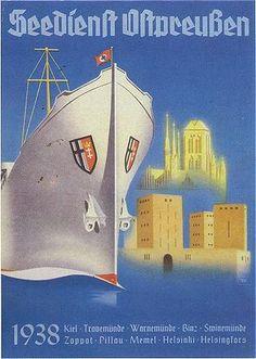 SO Seedienst Ostpreussen 1938