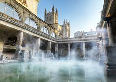 On our bucket list: Roman baths!  It looks lika an amazing experience to do!