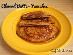 Almond Butter Pancakes - The Schizo Chef #breakfast