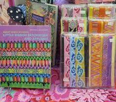 Making Ribbon Beads – Janet Haigh : Her Work Fiber Art Jewelry, Paper Bead Jewelry, Fabric Jewelry, Paper Beads, Jewelry Crafts, Beaded Jewelry, Fabric Bracelets, Fabric Necklace, Ribbon Display