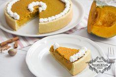 La Pumpkin pie, o torta di zucca, è un dolce tipico del nord America, viene servito per la festa del ringraziamento, il Natale e in tutto autunno e inverno.