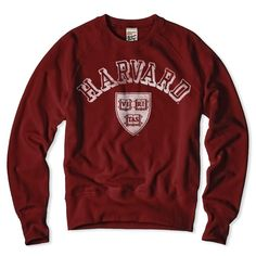 Harvard Crewneck Sweatshirt
