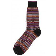 Duchamp Platinum Stripe Socks - #mens #socks #sock