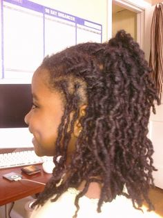 Kids with locs Baby Dreads, Dreads Girl, Natural Hairstyles For Kids, Little Girl Hairstyles, Kid Hairstyles, Natural Hair Care, Natural Hair Styles, Dreadlock Hairstyles, Natural Hair Inspiration