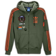Adidas Originals Star Wars HOTH Military Green Track Top