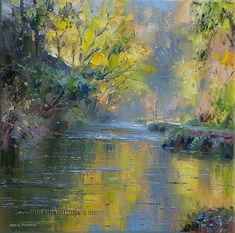 Rex Preston: November Sunshine, Beresford Dale