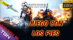 Battlefield 4 Gameplay Español Multijugador | Juego con los pies xD