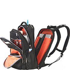 "Everki Atlas Checkpoint Friendly Adjustable 17.3"" Laptop Backpack - eBags.com"
