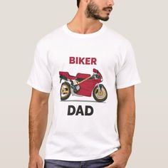 Biker Dad T-Shirt   motorcross quotes, biker riding, motocross girls quotes #motorbike #rideordie #ridehard, 4th of july party Motorcycle Tattoos, Motorcycle Tips, Cycling Tips, Cycling Workout, Tips Fitness, Fitness Models, Motocross Girls, Biker Shirts, Hiit