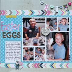 Easter Eggs - Scrapbook.com