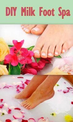 #DIY: Milk Foot Spa at Home