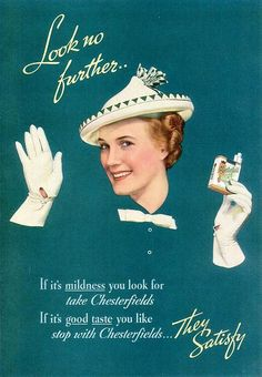 chesterfield 1937 vintage ad